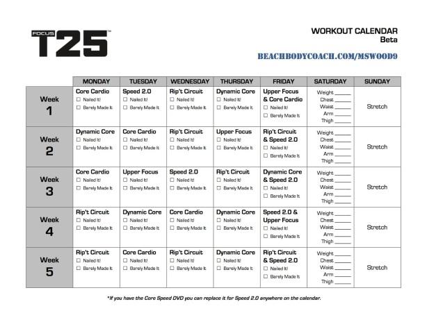 FOCUS T25 beta - Kalendarz