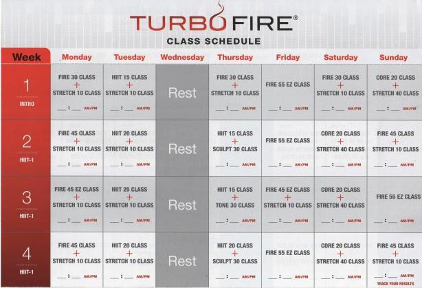 TurboFire - Kalendarz (1)