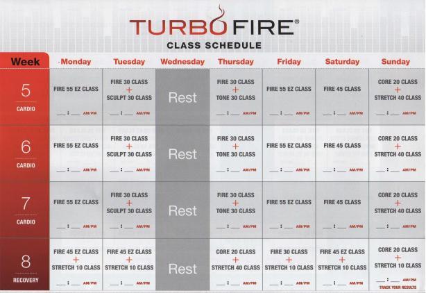 TurboFire - Kalendarz (2)